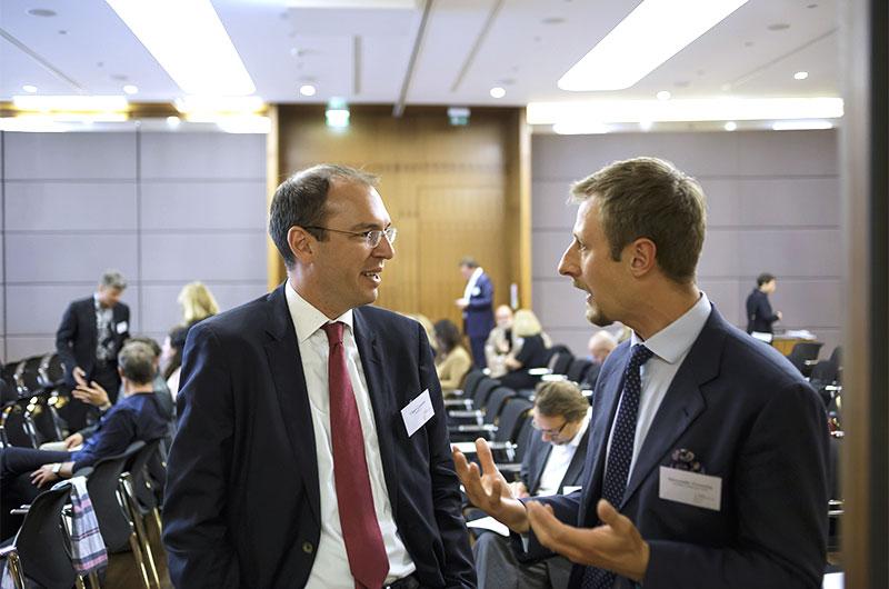 Oliver Gössler, Montblanc, und Alexander Grensing, Albatross Global Solutions