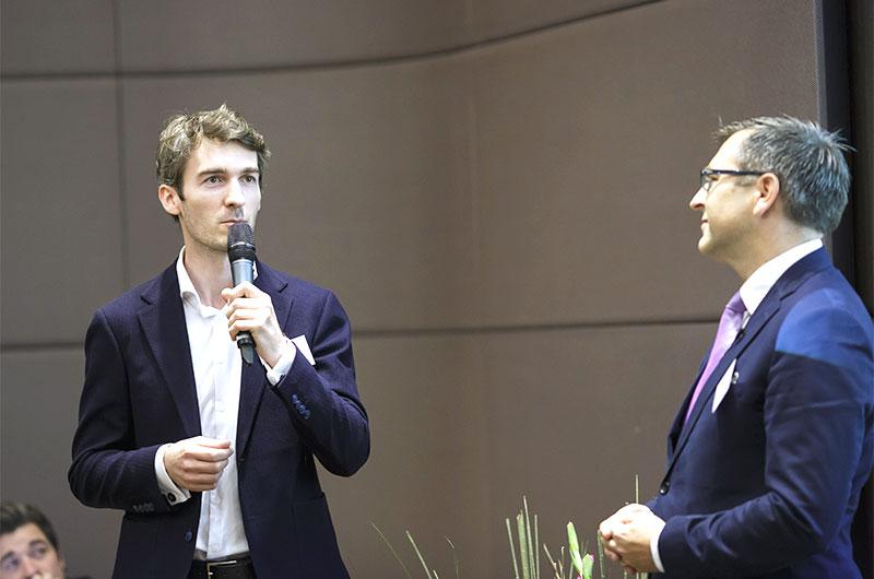 Fabian Benedix, Burmester, und Florian Huber, EY