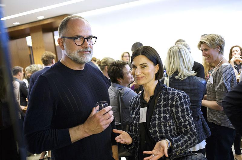 Kay Niehaus, Value Retail, und Simone Hartmann, Hartmann Consultants