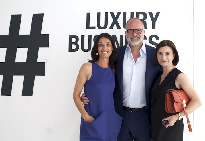 Petra-Anna Herhoffer, INLUX mit Kay Niehaus, Value Retail und Simone Hartmann, Hartmann Consultants