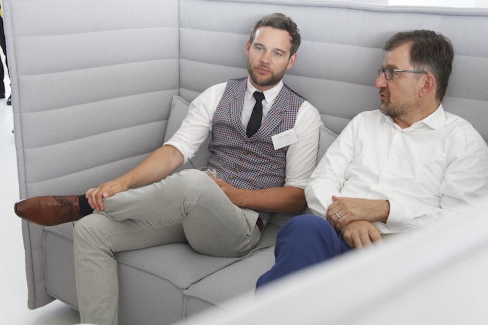 Florian Mayer, William Grant & Sons und Steffen Seifarth