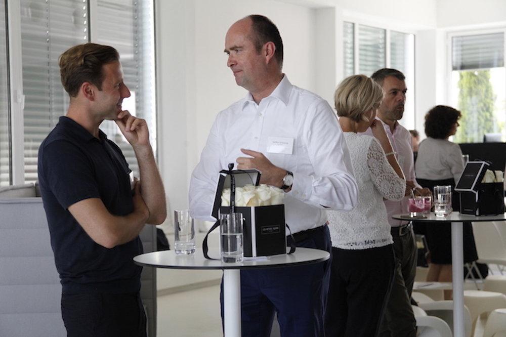 Kai Oppel, scrivo PR und Steffen Schwesig, LGT Bank