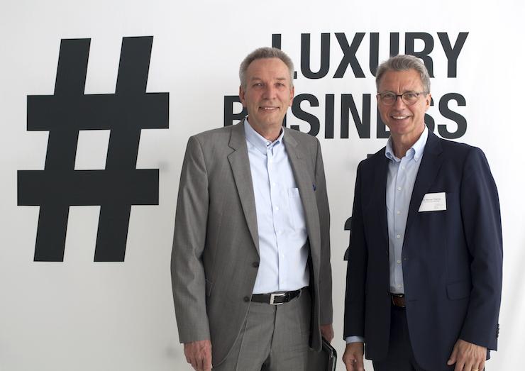 Peter P. Schoppmann, Rolls-Royce Motor Cars und Prof. Dr. Werner Thieme, Hochschule München