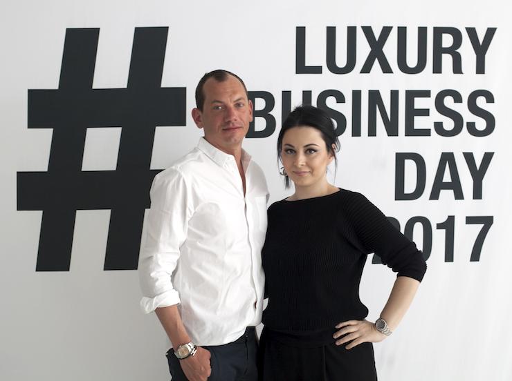 Yves Coulter und Zoe Boikou, beide ZOEVA