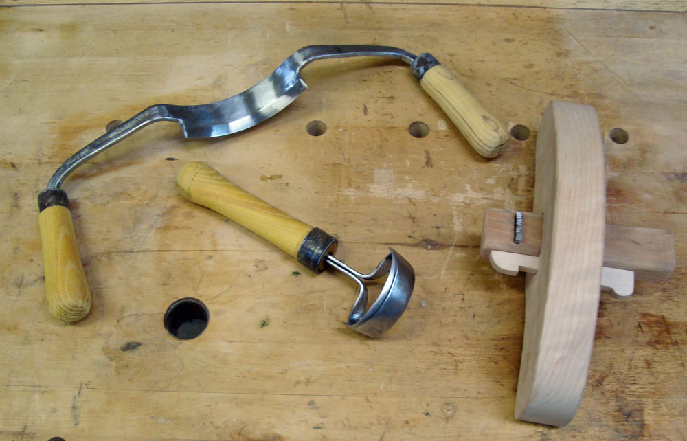Coopering tools made at Tillers International