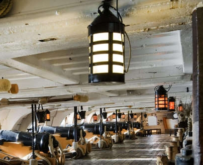Photo from HMS Victory website.