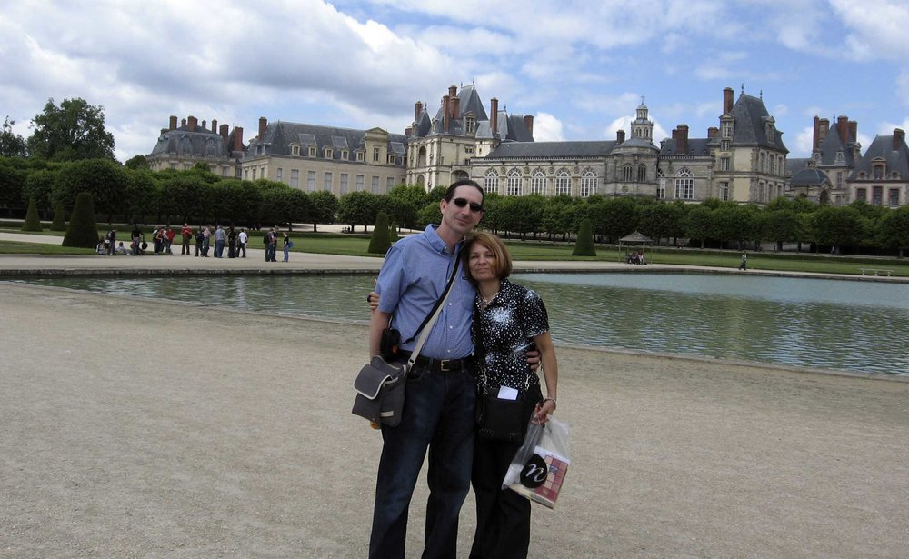 Rob and Shelley Gorrell at Fontainebleau 2007.