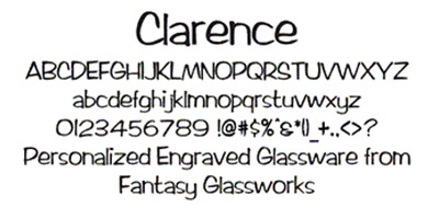 Clarence Font