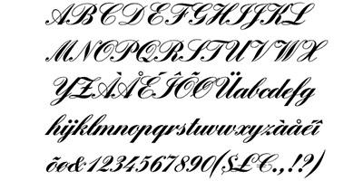 Script Font