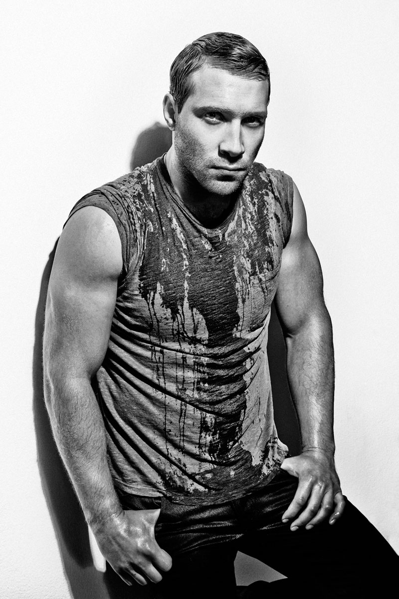 Jai Courtney Flaunt Magazine