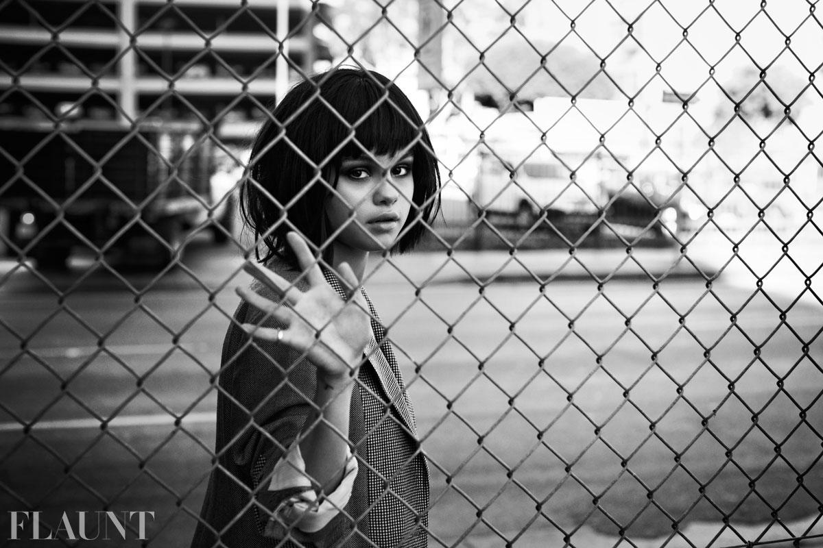 Selena gomez flaunt but not