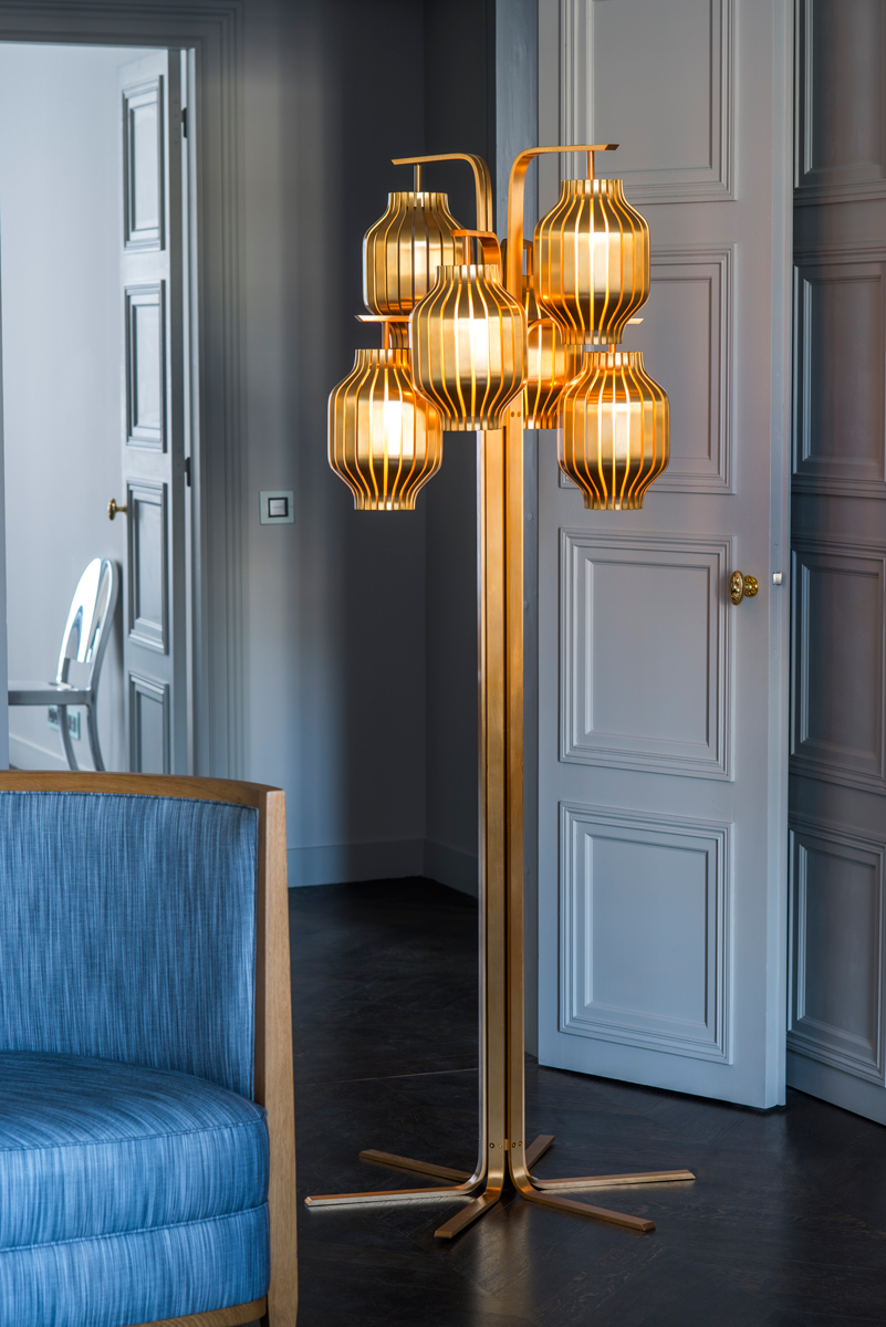 Lamp from Collection Jour de Fete with Charles Paris. Photo Courtesy Studio Putman. © Maison Charles.
