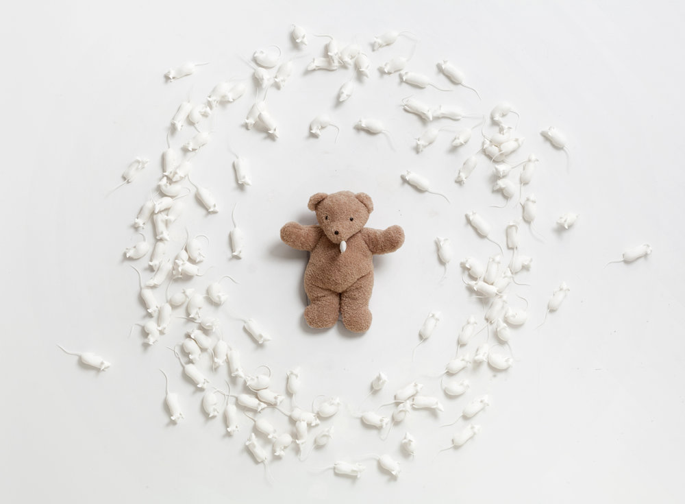 8-Hovnanian-Rachel-Lee_-Poor-Teddy_2014_Nylon-oil-teddy-bear-knife-silicone_Dimensions-variable_View-2-1.jpg