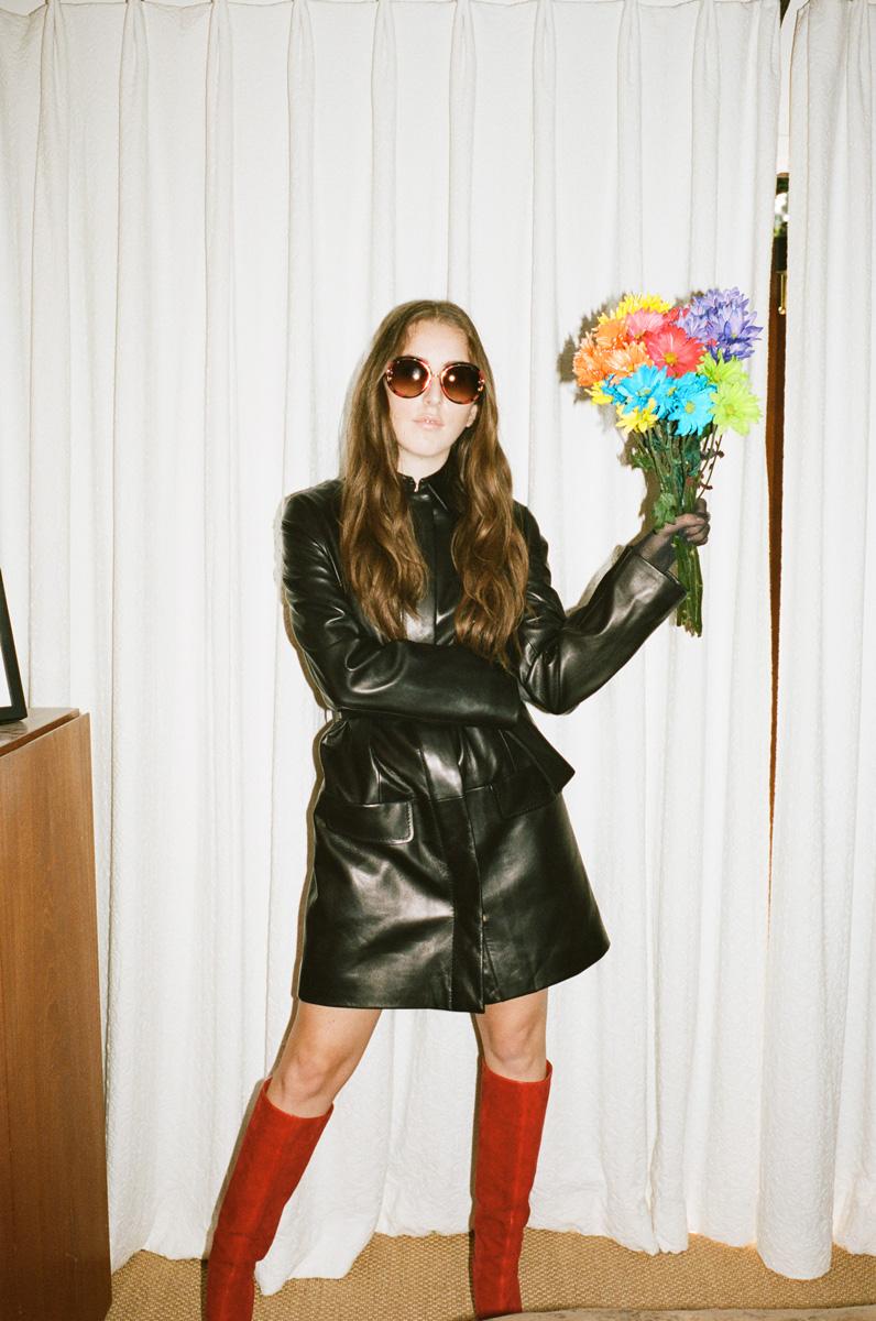 Wolf Fur Coat >> Alana Haim — Flaunt Magazine