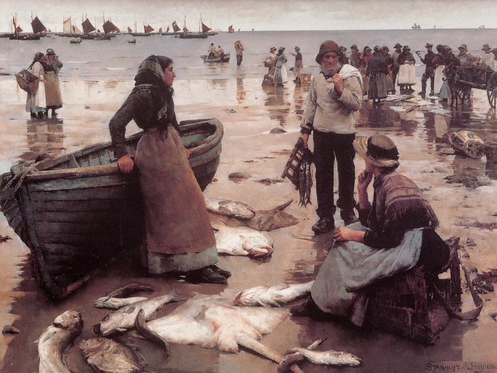 wallcoo_Forbes_Stanhope_A_Fish_Sale_on_a_Cornish_Beach.jpg