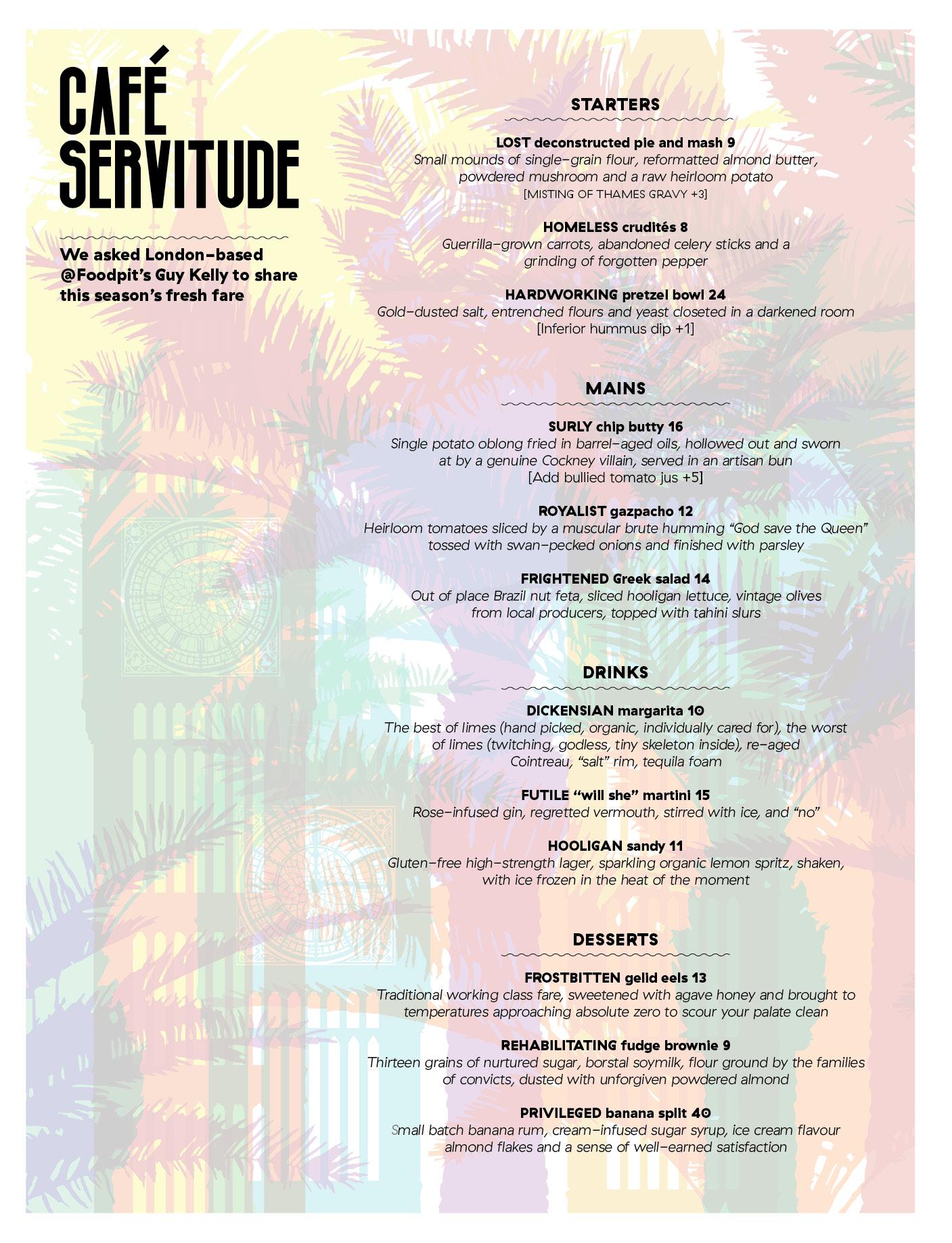 143 Cafe Servitude
