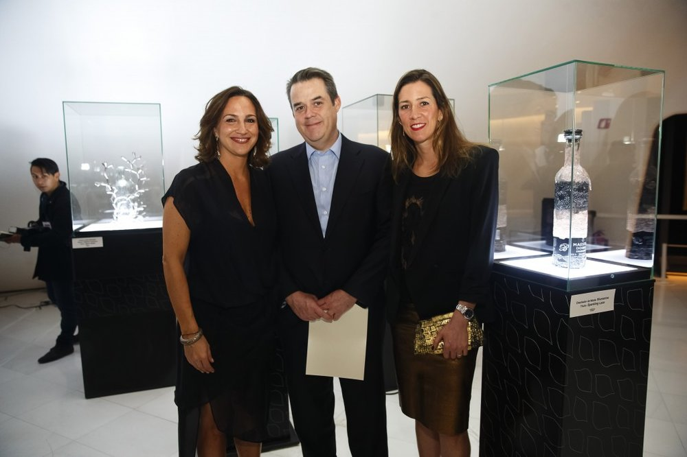 Mariana ba§os, Juan Beckman y Laura Laviada