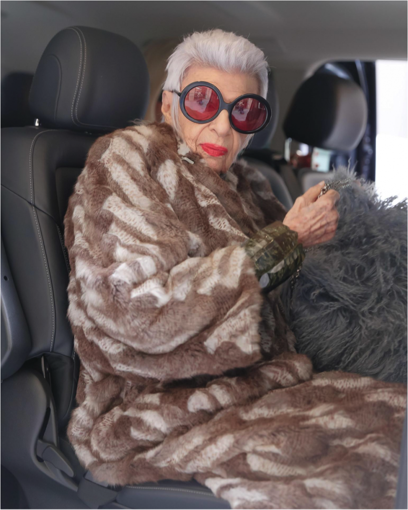 Photo by Iris Apfel via Instagram