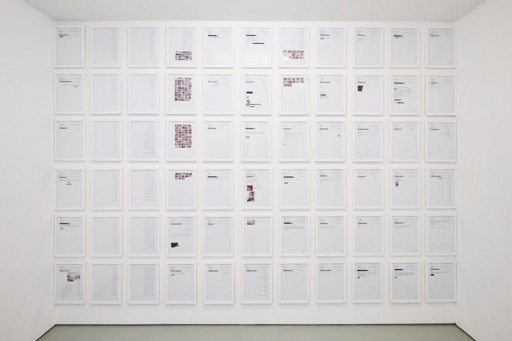 Rasha Kahil 'Anatomy of a Scandal' @ Art First Projects, London 2016
