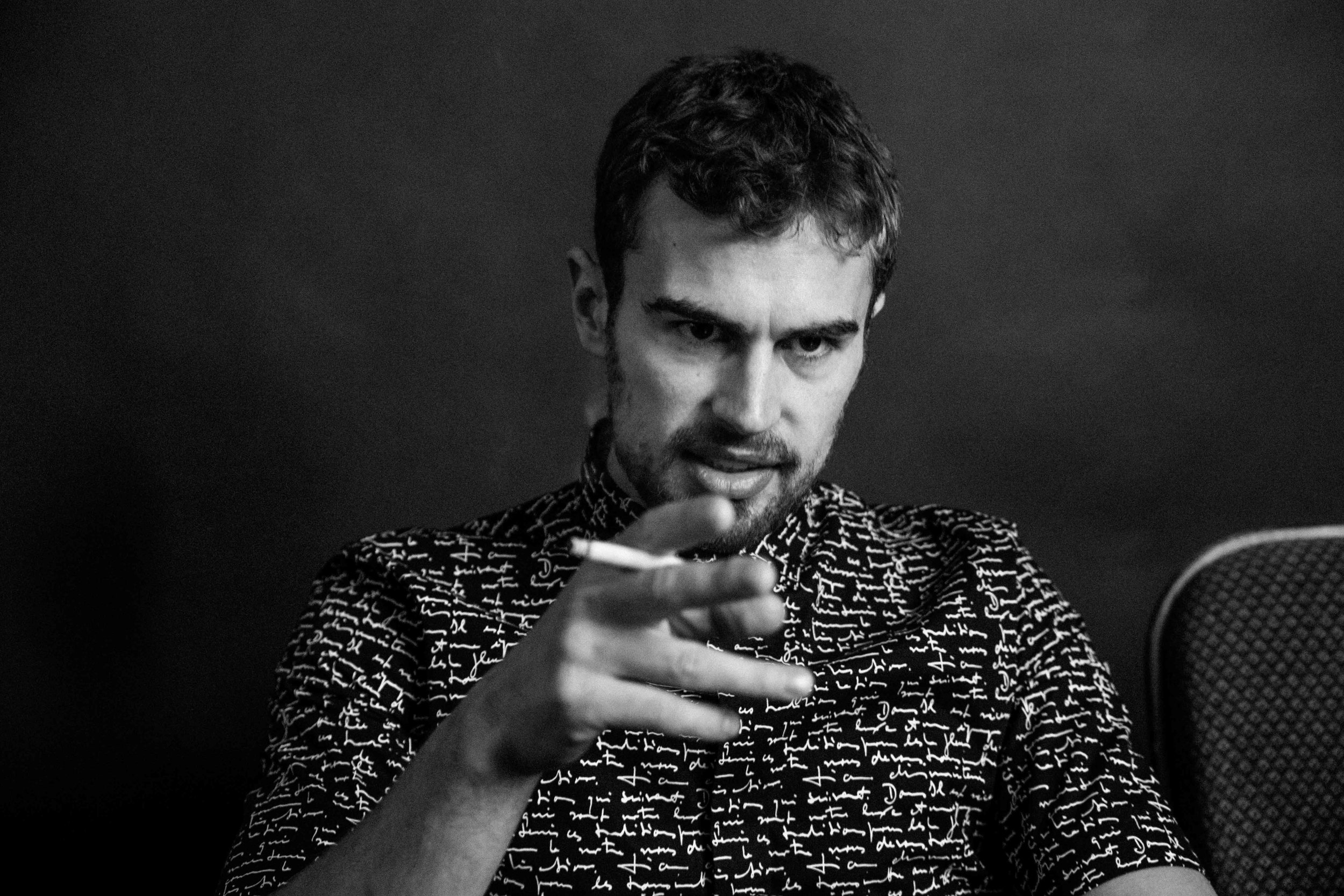 Theo James — Flaunt Magazine