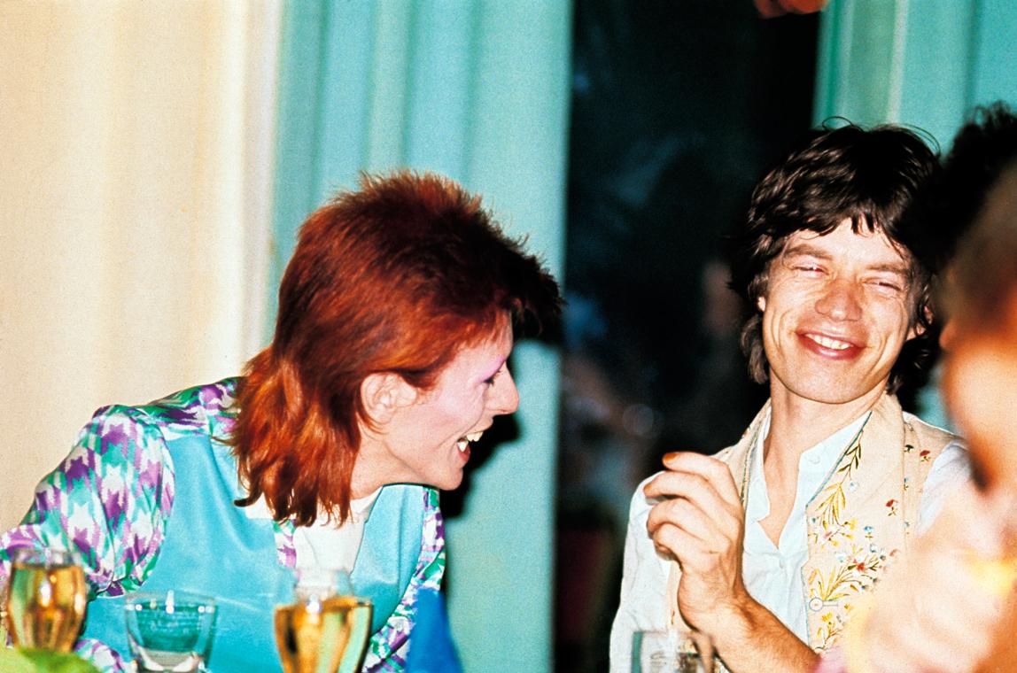 Bowie_MickJagger1973(c)MickRock