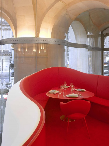 "ODILE DECQ. ""Phantom Opera Restaurant."" (2013). Interior Photograph. Courtesy the Architect. Photo: Roland Halbe."