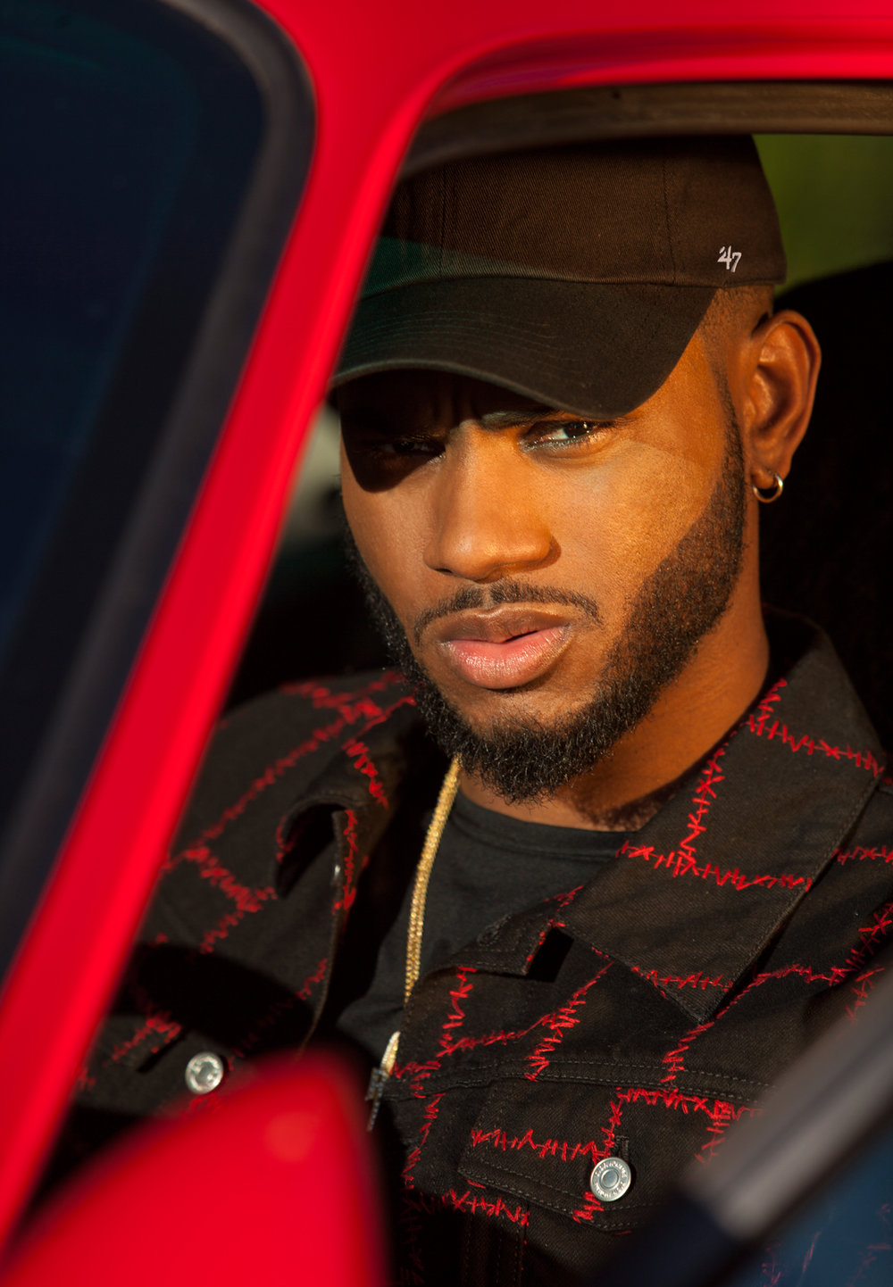 bryson tiller earrings bryson tiller flaunt magazine 2409