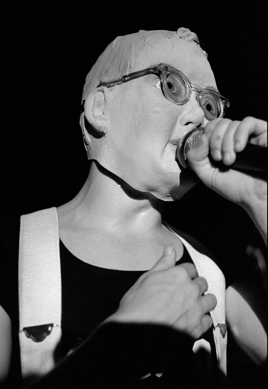 Devo at the Starwood, 1977.Photo: Melanie Nissen.