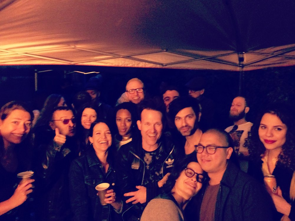 Went to a house party in Williamsburg. Made a lot of new friends that night!