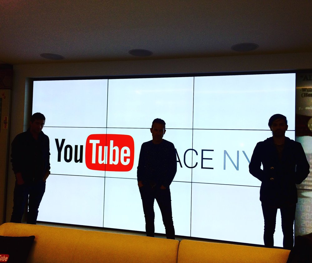 In the offices above Chelsea Market the good people at YouTube invited us to come and visit with them. It was a great space and we have plans to be back soon.