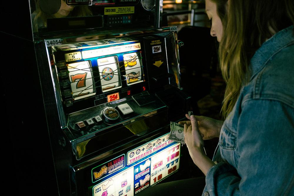 Quarter slots. Las Vegas, NV