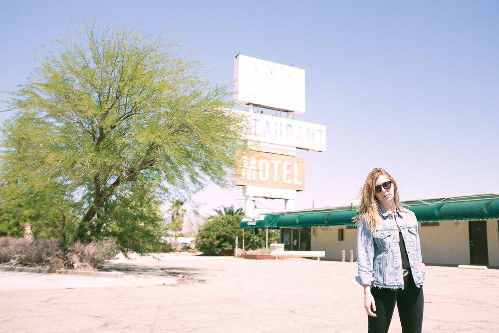 Somewhere in the desert. Nevada.