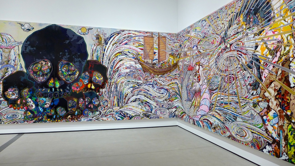 In the Land of the Dead, Stepping on the Tail of a Rainbow  Takashi Murakami