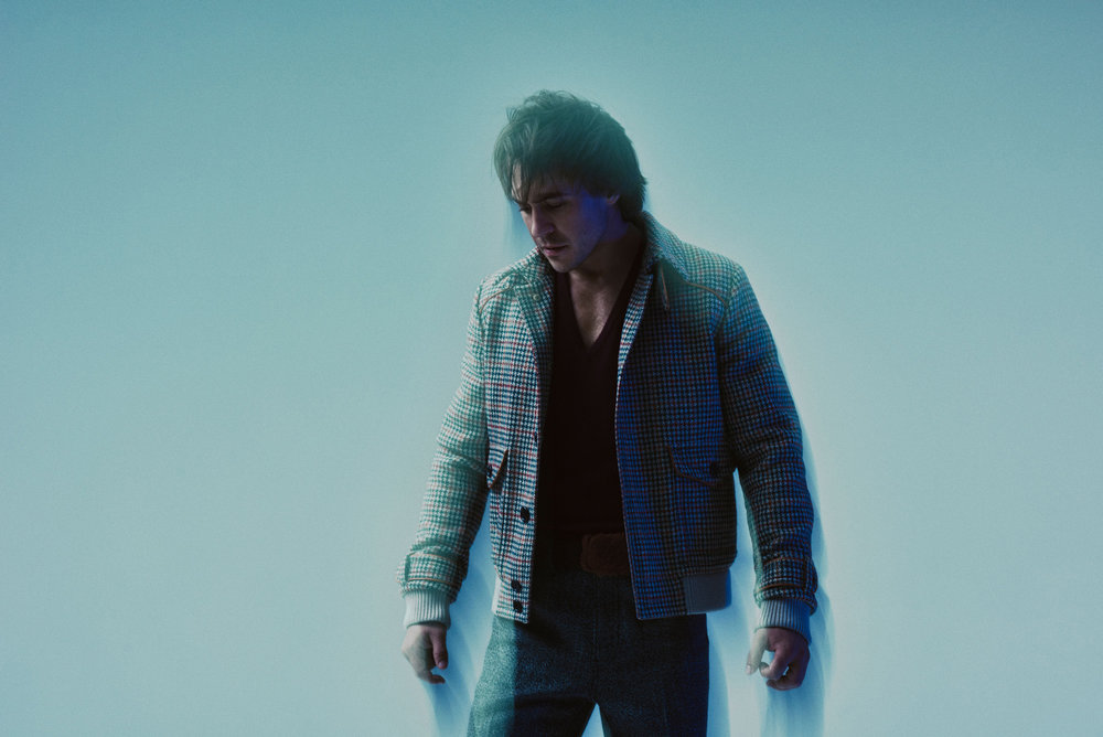 PRADA  jacket, t-shirt, and pants .