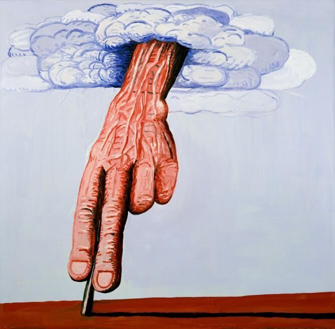 Philip Guston, Line