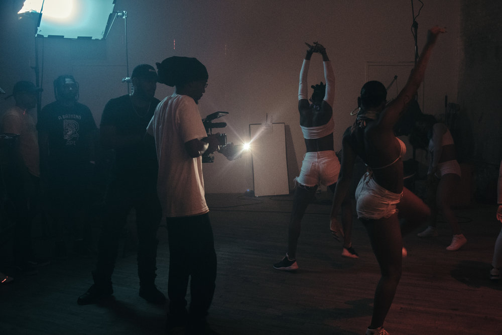 """No Afrobeat video is perfect unless it has a plethora of dancers!"""