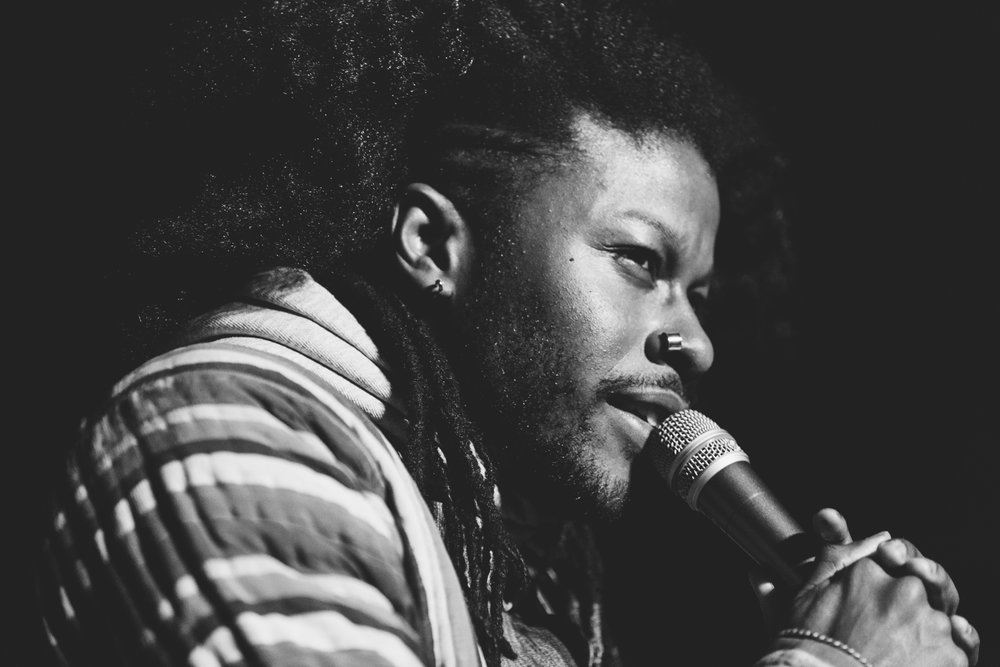 Jesse Boykins III at The Peppermint Club on Dec. 4, 2017 | all images by Jose Cervantes