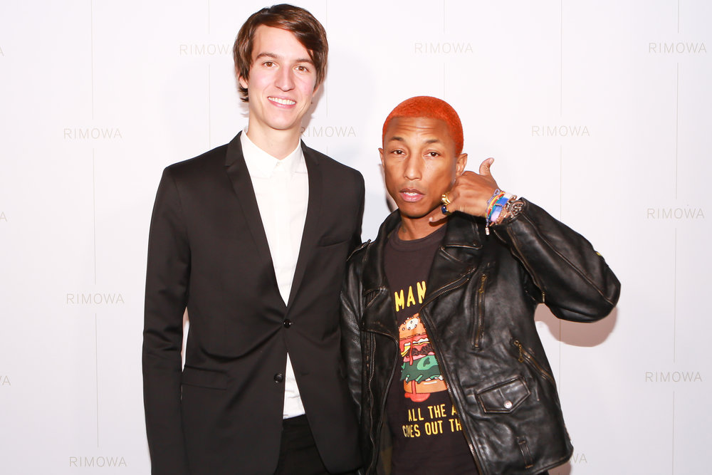 Alexandre Arnault and Pharrell Williams