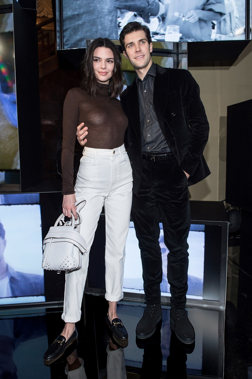 Models Kendall Jenner and Roberto Bolle | all images c/o Tod's