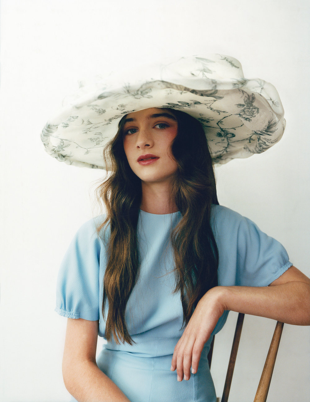 EMILIA WICKSTEAD  jumpsuit and  NOEL STEWART FOR MULBERRY  hat.