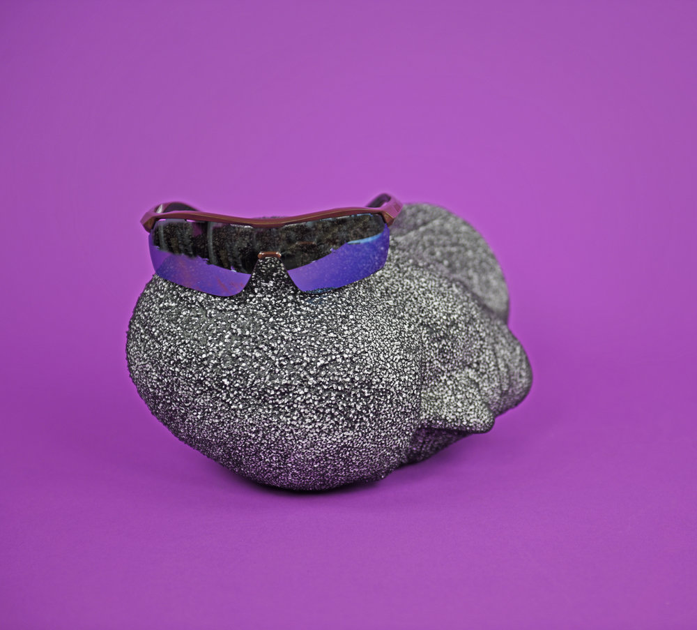 Stella McCartney,  Turbo Wrap  sunglasses.