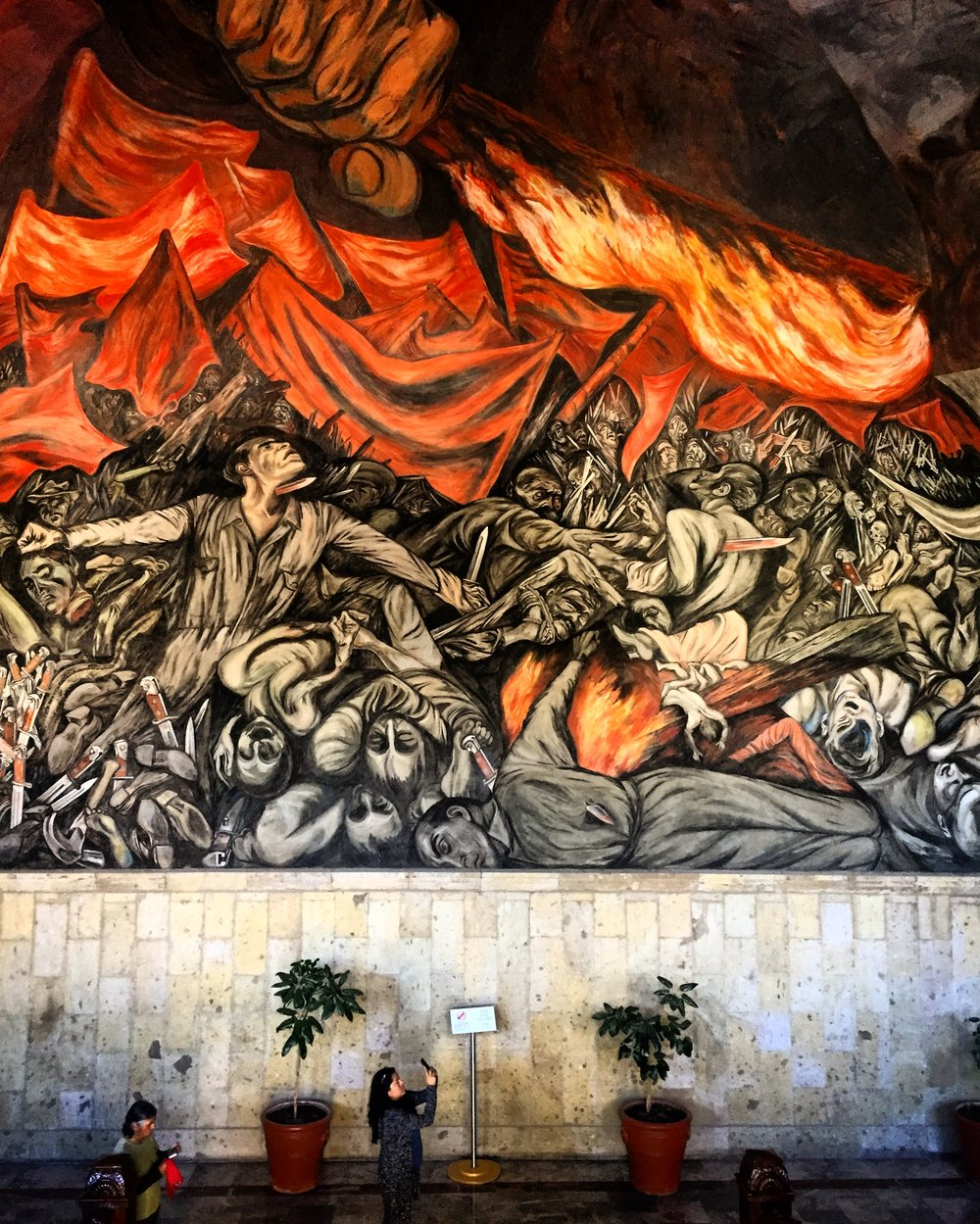 Orozco Murals at the Governors Palace | photo by Shana Nys Dambrot