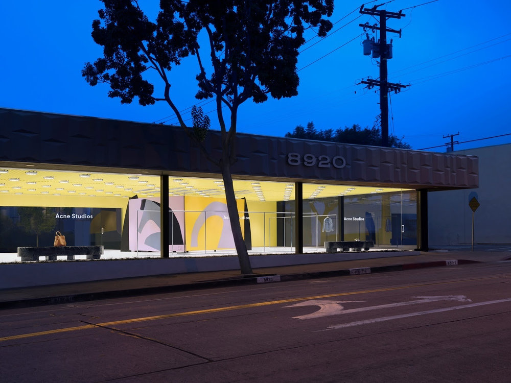 a0a0c5782f5 Los Angeles just got one step closer to its fashion capital status with the  opening of Acne Studios  second Los Angeles location in West Hollywood.