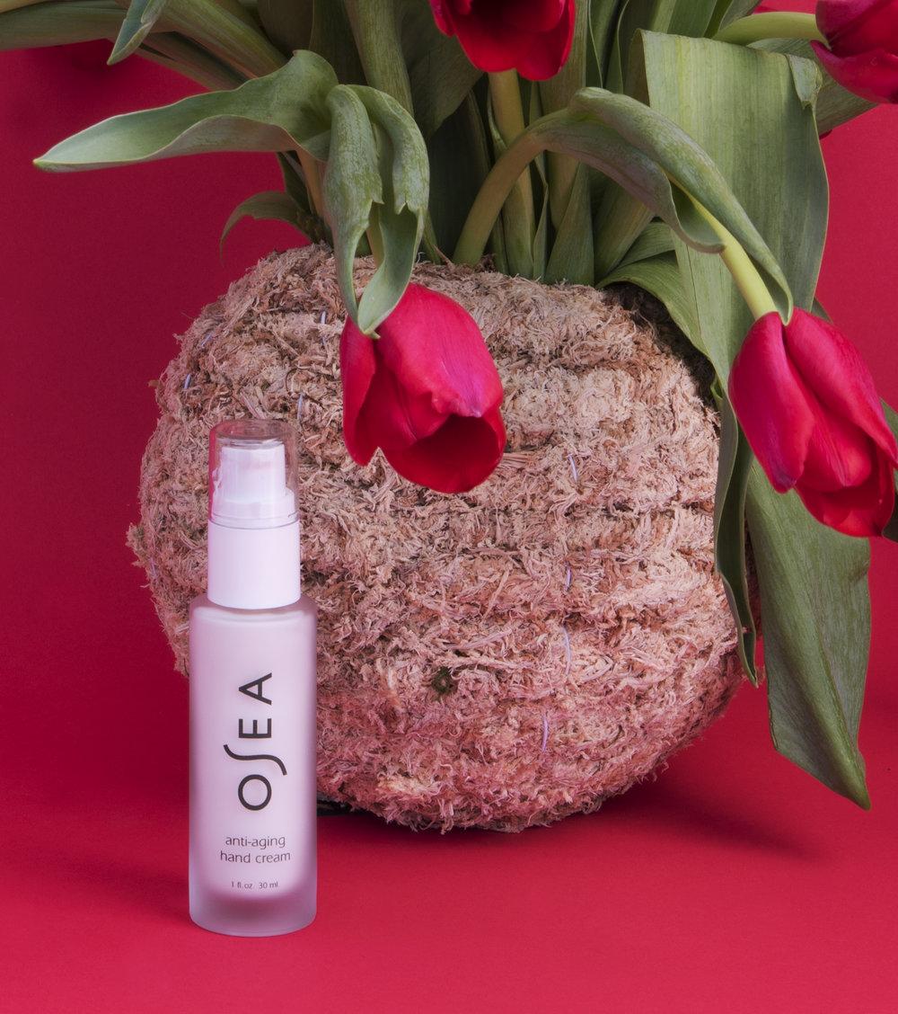 Anti-aging hand cream,  Osea , ($38).
