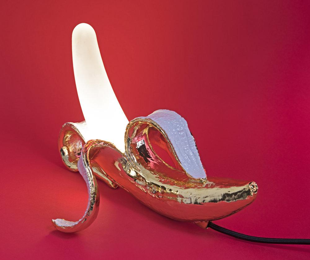 Banana lamp,  Seletti available at  Eataly ,($345).