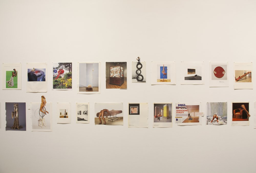 "Narcissister. Installation view of ""Studies for Participatory Sculptures"" at Participant Inc. Photo by Mark Waldhauser."