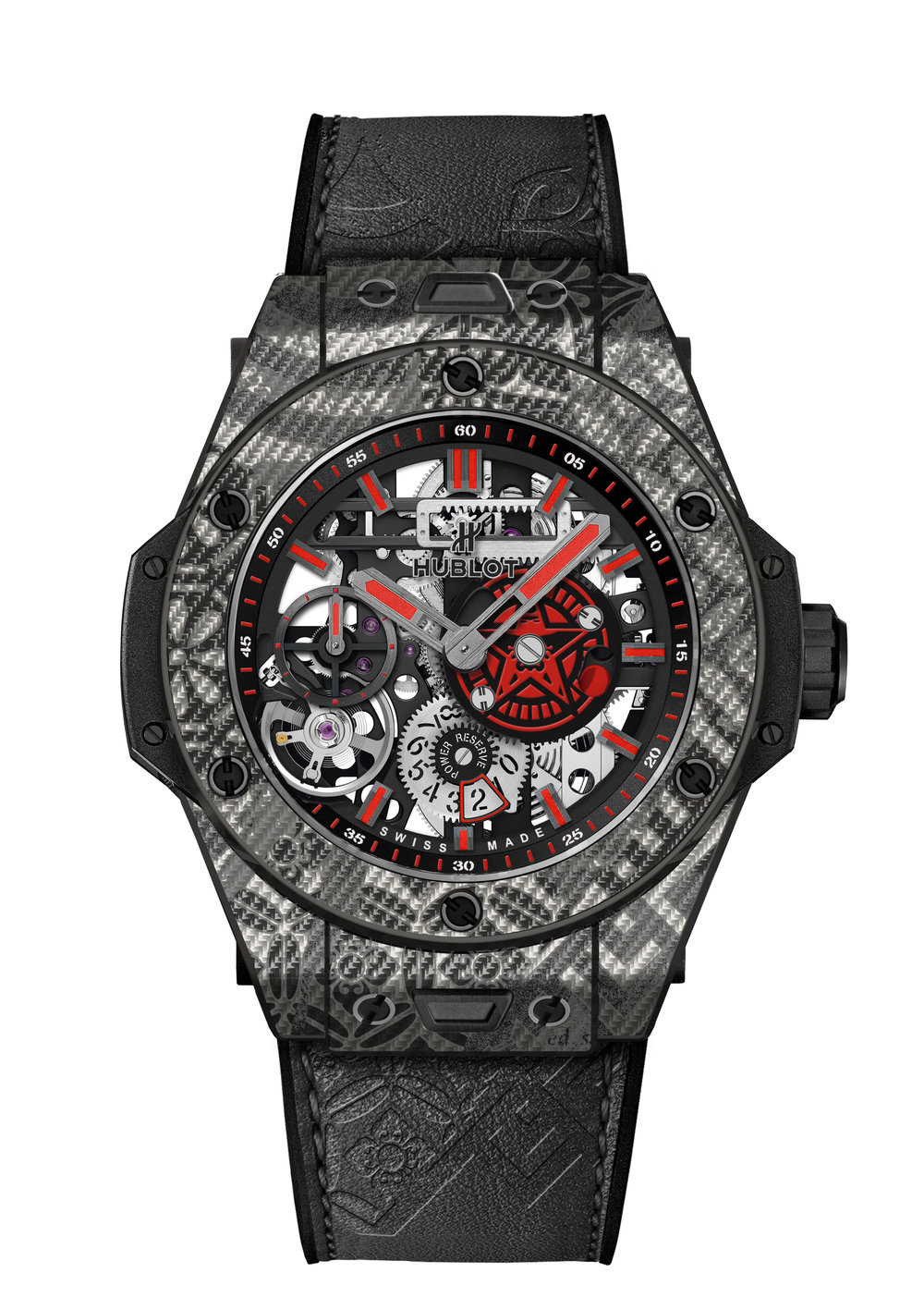 "HUBLOT BIG BANG MECA-10 ""SHEPARD FAIREY GREY"" watch."