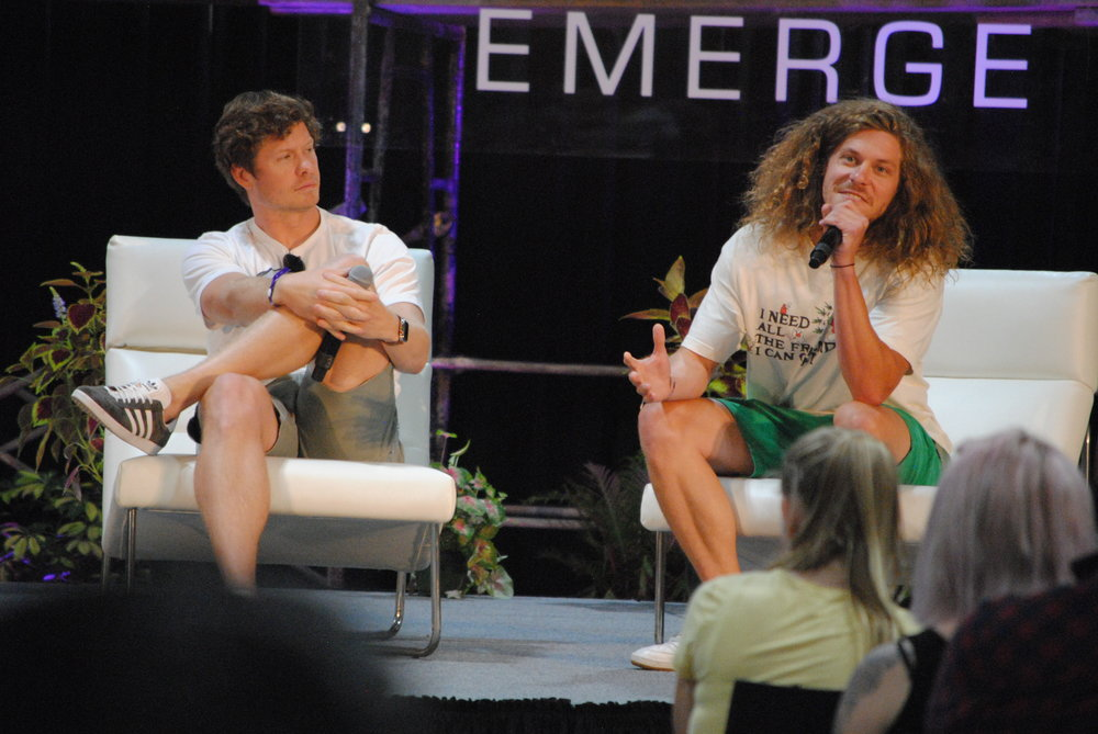 """Panel Discussion """"Game Over Man"""", Anders Holm and Blake Anderson"""