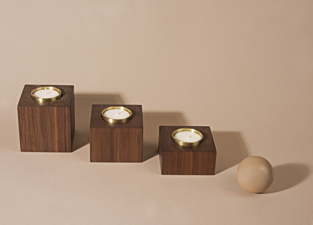 MARMOL RADZINER  tealight candle set.
