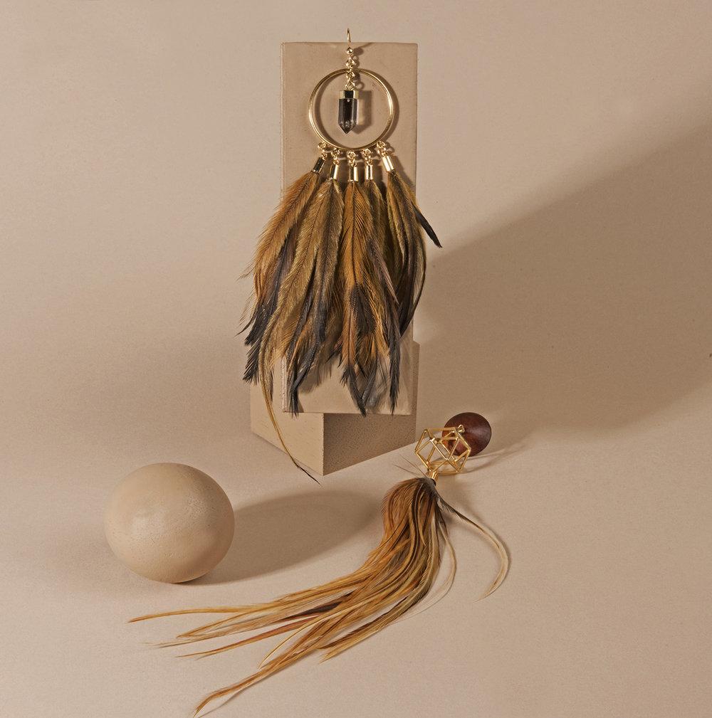 SHEILA B JEWELRY earrings.